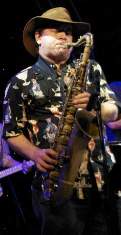 Andy Williamson, tenor saxophonist
